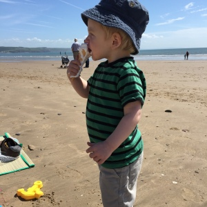 Ice creams at Saundersfoot