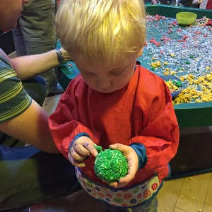 Playdough Messy Play