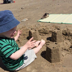 Sandcastles on Saundersfoot