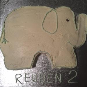 Elephantastic cake